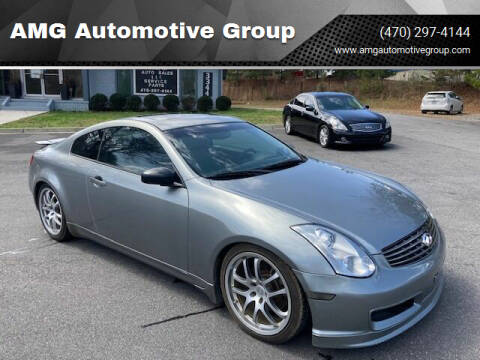 2005 Infiniti G35 for sale at AMG Automotive Group in Cumming GA