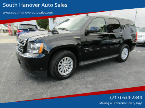 2010 Chevrolet Tahoe Hybrid for sale at South Hanover Auto Sales in Hanover PA