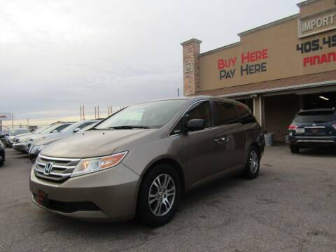 2013 Honda Odyssey for sale at Import Motors in Bethany OK