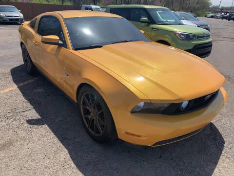 2011 Ford Mustang for sale at Ol Mac Motors in Topeka KS