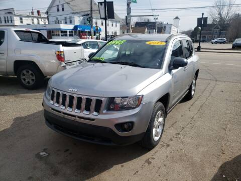 2015 Jeep Compass for sale at TC Auto Repair and Sales Inc in Abington MA