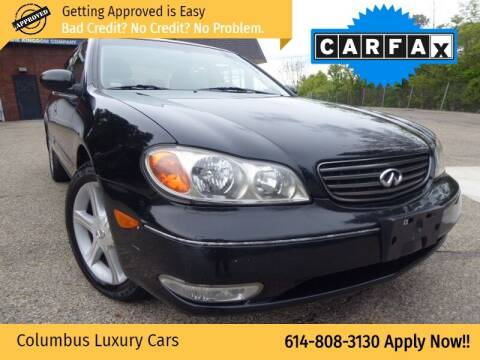 2002 Infiniti I35 for sale at Columbus Luxury Cars in Columbus OH