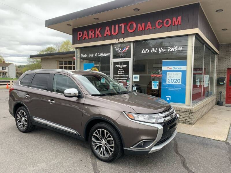 2016 Mitsubishi Outlander for sale at Park Auto LLC in Palmer MA