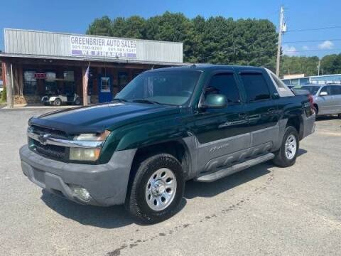 2003 Chevrolet Avalanche for sale at Greenbrier Auto Sales in Greenbrier AR