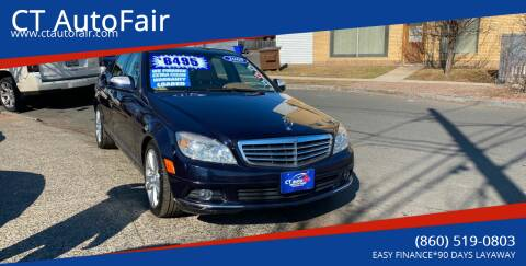 2008 Mercedes-Benz C-Class for sale at CT AutoFair in West Hartford CT