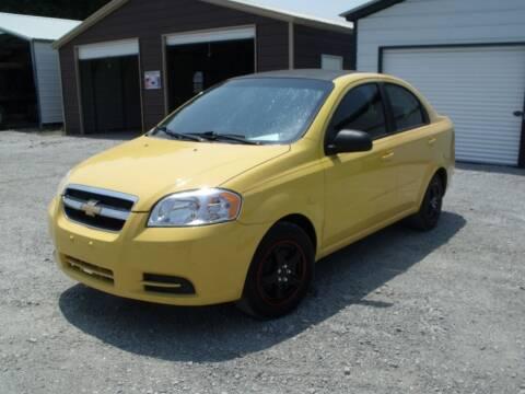 2011 Chevrolet Aveo for sale at CAROLINA TOY SHOP LLC in Hartsville SC