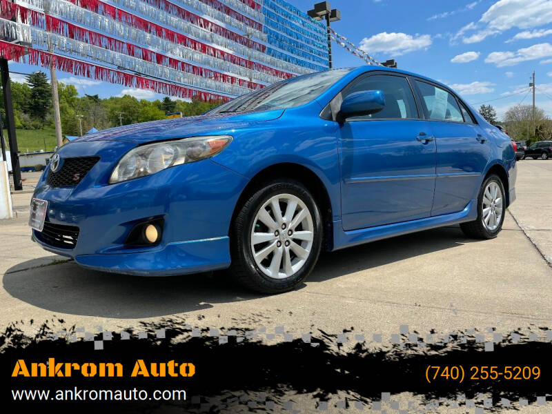 2010 Toyota Corolla for sale at Ankrom Auto in Cambridge OH
