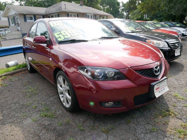 2008 Mazda MAZDA3 for sale at M & R Auto Sales INC. in North Plainfield NJ