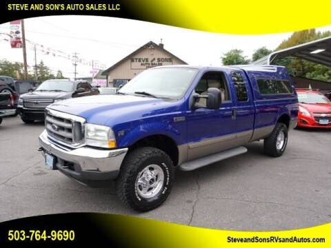 2003 Ford F-250 Super Duty for sale at Steve & Sons Auto Sales in Happy Valley OR