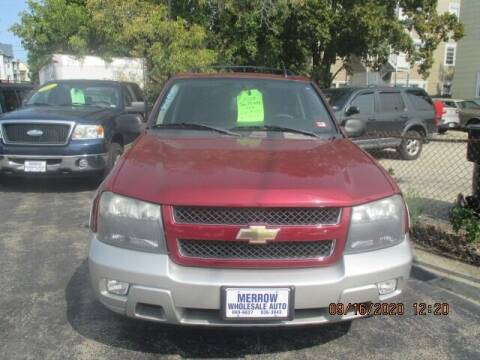 2008 Chevrolet TrailBlazer for sale at MERROW WHOLESALE AUTO in Manchester NH