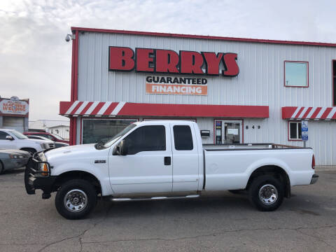 2001 Ford F-250 Super Duty for sale at Berry's Cherries Auto in Billings MT