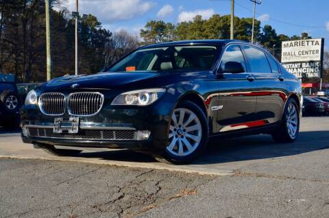2012 BMW 7 Series for sale at Marietta Auto Mall Center in Marietta GA