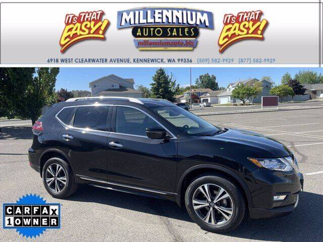 2018 Nissan Rogue for sale at Millennium Auto Sales in Kennewick WA