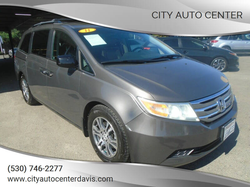 2011 Honda Odyssey for sale at City Auto Center in Davis CA