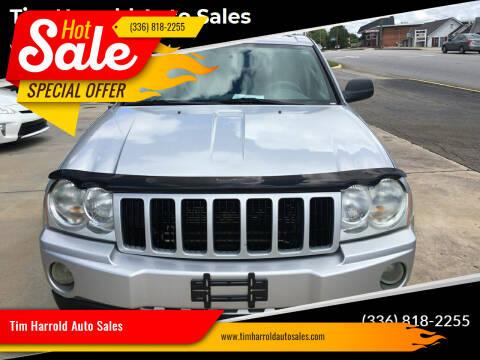 2006 Jeep Grand Cherokee for sale at Tim Harrold Auto Sales in Wilkesboro NC