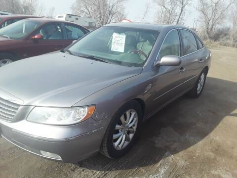 2007 Hyundai Azera for sale at BARNES AUTO SALES in Mandan ND
