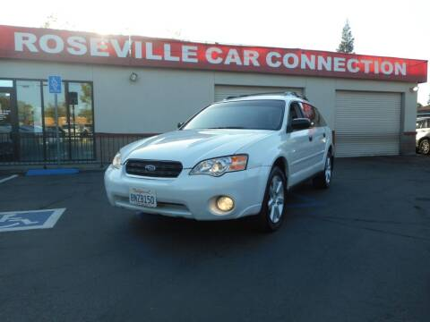 2006 Subaru Outback for sale at ROSEVILLE CAR CONNECTION in Roseville CA