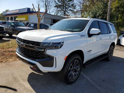 2021 Chevrolet Tahoe for sale at THE TRAIN AUTO SALES & LEASING in Mauldin SC