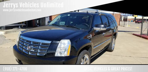 2007 Cadillac Escalade ESV for sale at Jerrys Vehicles Unlimited in Okemah OK
