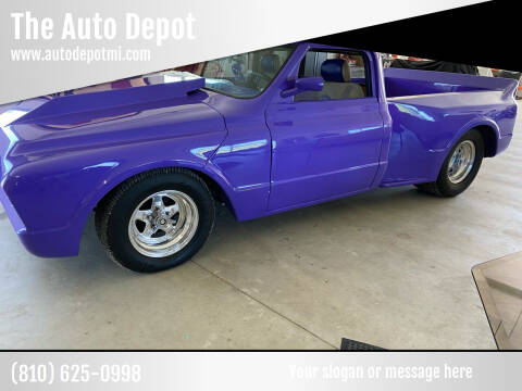1968 Chevrolet C/K 10 Series for sale at The Auto Depot in Mount Morris MI
