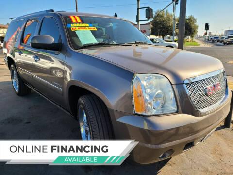 2011 GMC Yukon XL for sale at Super Cars Sales Inc #1 - Super Auto Sales Inc #2 in Modesto CA