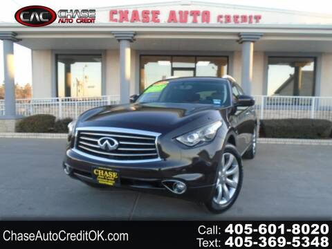 2012 Infiniti FX35 for sale at Chase Auto Credit in Oklahoma City OK