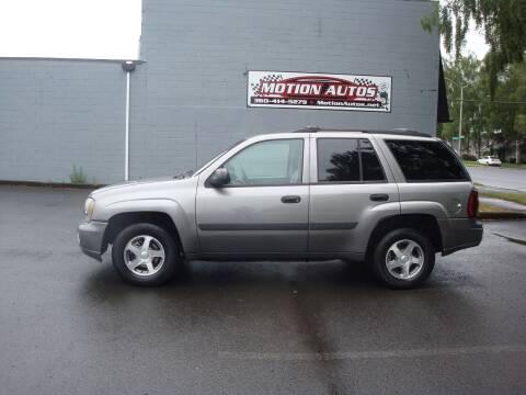 2005 Chevrolet TrailBlazer for sale at Motion Autos in Longview WA