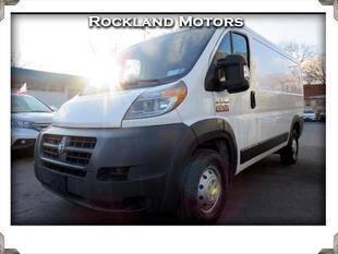 2016 RAM ProMaster Cargo for sale at Rockland Automall - Rockland Motors in West Nyack NY