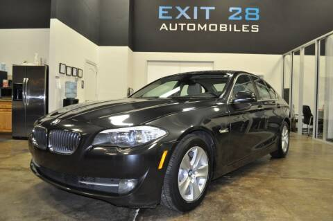 2011 BMW 5 Series for sale at Exit 28 Auto Center LLC in Cornelius NC