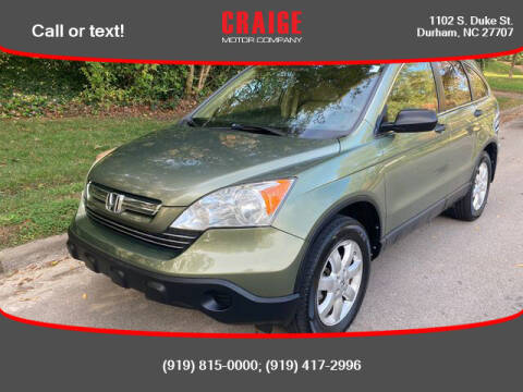 2007 Honda CR-V for sale at CRAIGE MOTOR CO in Durham NC