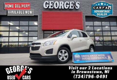 2016 Chevrolet Trax for sale at George's Used Cars - Pennsylvania & Allen in Brownstown MI