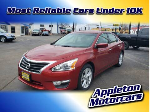 2013 Nissan Altima for sale at Appleton Motorcars Sales & Service in Appleton WI