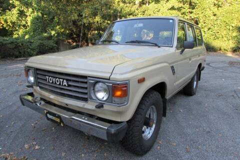 1987 Toyota Land Cruiser for sale at AUTO FOCUS in Greensboro NC