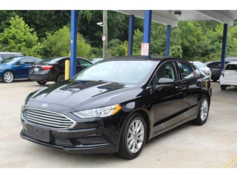 2017 Ford Fusion for sale at Inline Auto Sales in Fuquay Varina NC