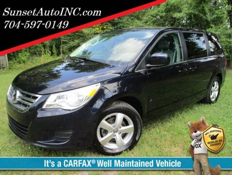 2010 Volkswagen Routan for sale at Sunset Auto in Charlotte NC