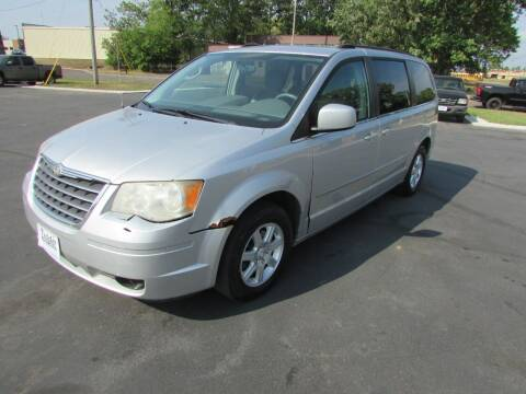 2010 Chrysler Town and Country for sale at Fedder Motors in Mora MN