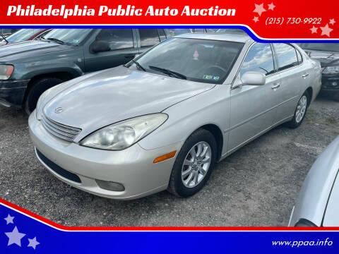 2003 Lexus ES 300 for sale at Philadelphia Public Auto Auction in Philadelphia PA