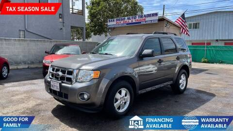 2012 Ford Escape for sale at San Diego Auto Traders in San Diego CA