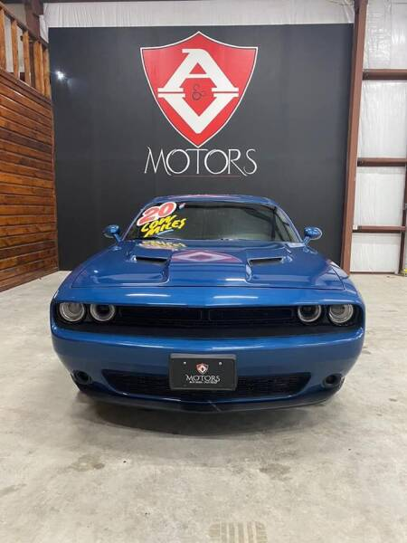2020 Dodge Challenger for sale at A & V MOTORS in Hidalgo TX
