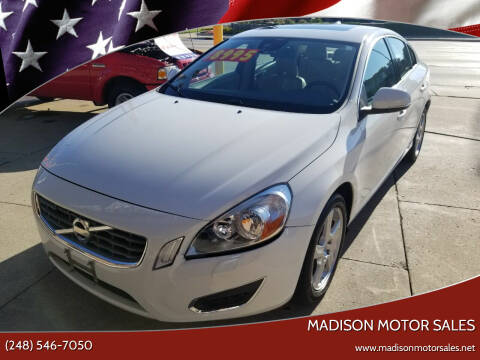 2013 Volvo S60 for sale at Madison Motor Sales in Madison Heights MI