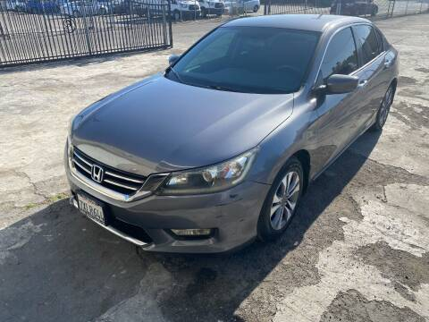 2013 Honda Accord for sale at 101 Auto Sales in Sacramento CA
