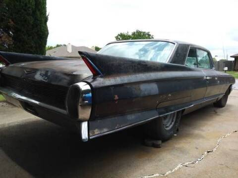 1962 Cadillac Series 62 for sale at Classic Car Deals in Cadillac MI