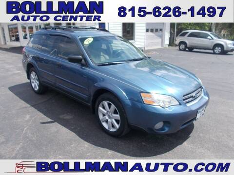 2006 Subaru Outback for sale at Bollman Auto Center in Rock Falls IL