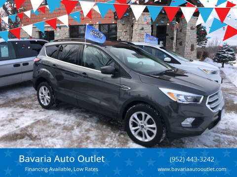 2018 Ford Escape for sale at Bavaria Auto Outlet in Victoria MN
