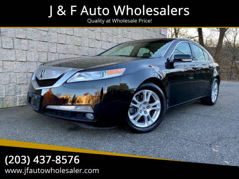 2009 Acura TL for sale at J & F Auto Wholesalers in Waterbury CT