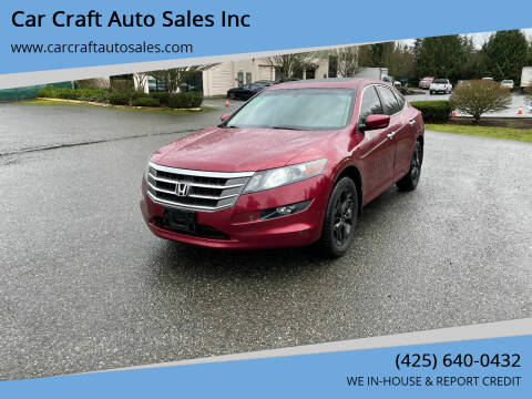 2010 Honda Accord Crosstour for sale at Car Craft Auto Sales Inc in Lynnwood WA
