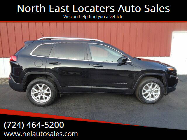 2015 Jeep Cherokee for sale at North East Locaters Auto Sales in Indiana PA