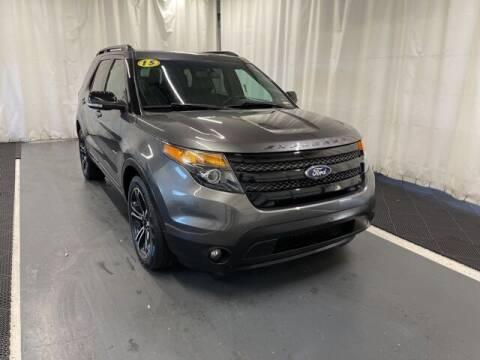 2015 Ford Explorer for sale at Monster Motors in Michigan Center MI