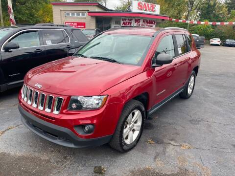 2016 Jeep Compass for sale at Right Place Auto Sales in Indianapolis IN
