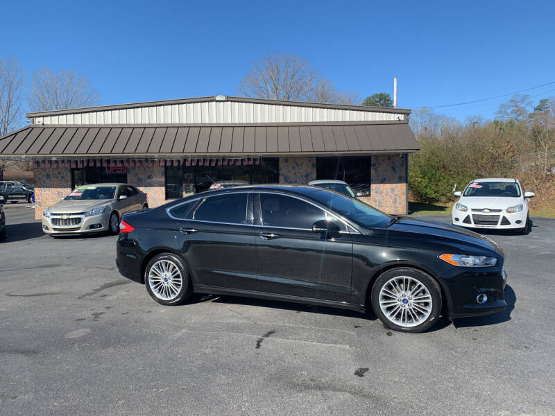 2013 Ford Fusion for sale at MARLAR AUTO MART SOUTH in Oneida TN